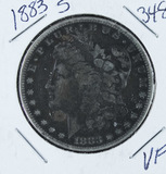 1883-S  MORGAN DOLLAR -VF