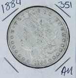 1884 -  MORGAN DOLLAR - AU