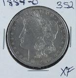 1884-O  MORGAN DOLLAR - XF