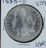1885-0  MORGAN DOLLAR -UNC