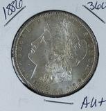 1886 -  MORGAN DOLLAR - AU+