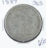 1887 -  MORGAN DOLLAR -VF
