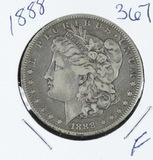 1888 -  MORGAN DOLLAR - F