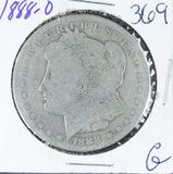 1888-O  MORGAN DOLLAR - G