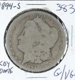 1894-S  MORGAN DOLLAR - G/VG (KEY DATE)