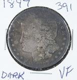 1897 -  MORGAN DOLLAR - VF (DARK)