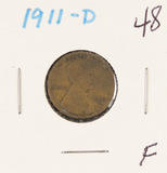 1911-D LINCOLN CENT - F