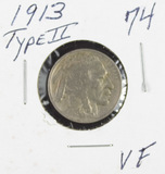1913 - TYPE II - BUFFALO NICKEL - VF