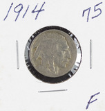1914 - BUFFALO NICKEL - F+