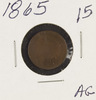 1865 - INDIAN HEAD CENT - AG