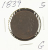 1839 - BRAIDED HAIR LARGE CENT - G