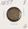 1857 - FLYING EAGLE CENT - G