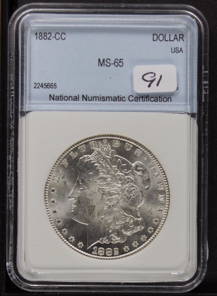 Coin Auction July 25th, 2018