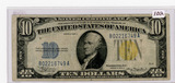 SERIES OF 1934-A TEN DOLLAR SILVER CERTIFICATE