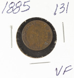 1885 - INDIAN HEAD CENT - VF
