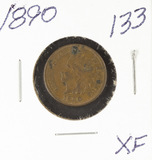 1890 - INDIAN HEAD CENT - XF