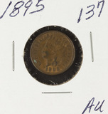 1895 - INDIAN HEAD CENT - XF/AU