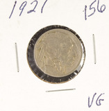 1921 - BUFFALO NICKEL - VG