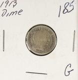 1913 - BARBER DIME - G