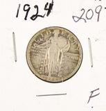 1924 - STANDING LIBERTY QUARTER - F
