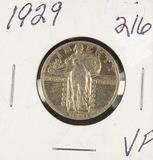 1929 - STANDING LIBERTY QUARTER - VF