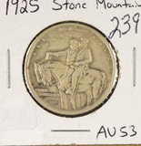 1925 - STONE MOUNTAIN COMMERATIVE HALF DOLLAR - AU