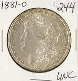 1881-O MORGAN DOLLAR - UNC