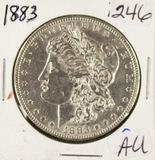 1883 - MORGAN DOLLAR - AU