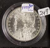 1883-CC  MORGAN DOLLAR - UNC