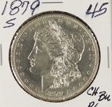 1879-S MORGAN DOLLAR- BU