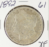 1892 -  MORGAN DOLLAR - XF