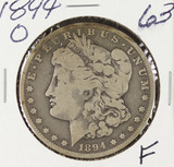 1894-O MORGAN DOLLAR - F