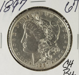 1897 -  MORGAN DOLLAR - BU