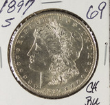 1897-S MORGAN DOLLAR - BU