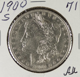1900-S MORGAN DOLLAR - AU