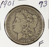 1901  - MORGAN DOLLAR -F