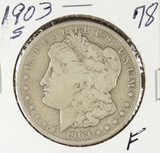 1903-S MORGAN DOLLAR -F