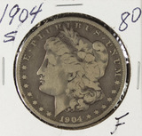 1904-S MORGAN DOLLAR - F