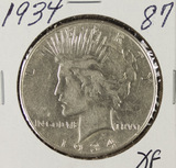 1934 - PEACE DOLLAR - XF