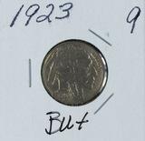1923 - BUFFALO NICKEL - CH AU
