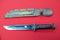 Western Sheath Knife with Sheath, Missing One