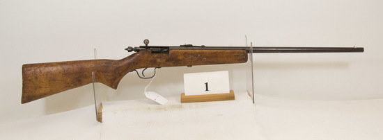 JC Higgins, Model 10124, Bolt Rifle, 22 cal,