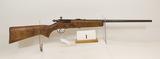 JC Higgins, Model 10124, Bolt Rifle, 22 cal,