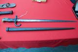 Bayonet with Metal Sheath