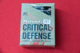 1 Box of 20, Hornady Critical Defense 45 Auto