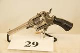Lefaucheux, Antique Pin Fire, Revolver, 7 mm cal,