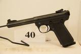 Ruger, Model MKIII Target, Semi Auto Pistol, 22