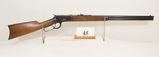 Winchester, Model 1892, Lever Rifle, 38-40 cal,