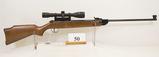 Diana, Model 34, Air Rifle, 177 cal, RWS 4 x