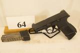 FN, Model FNS-9C, Semi Auto Pistol,  9 mm cal,